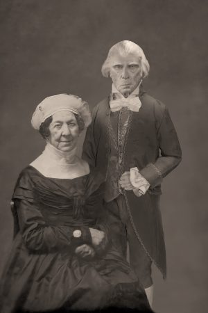 The Lost Daguerreotype of James and Dolley Madison
