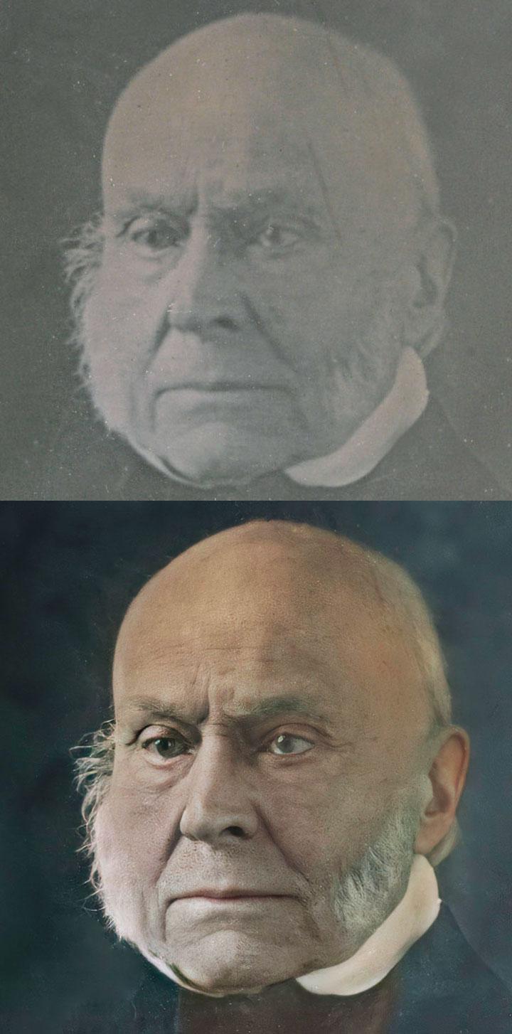 John Quincy Adams Daguerreotype