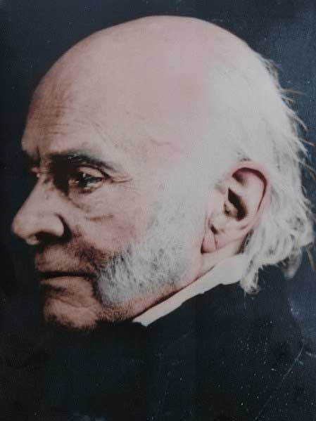 John Quincy Adams Edward Anthony Daguerreotype