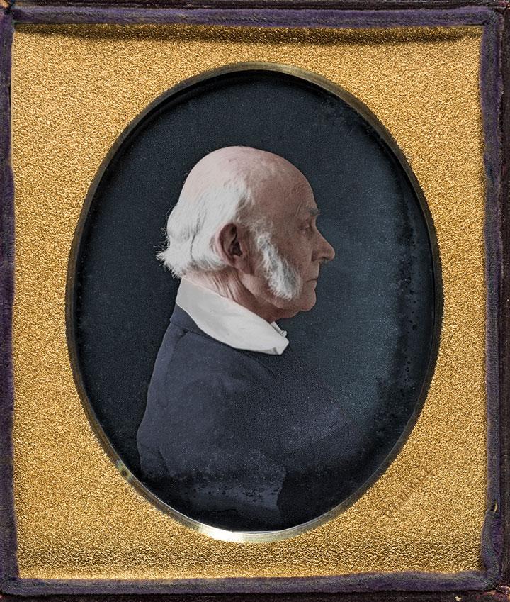 John Plumbe John Quincy Adams Daguerreotype