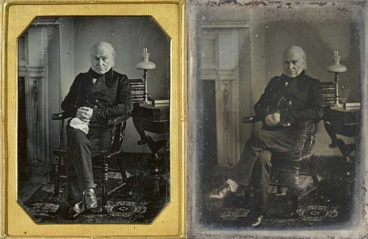 John Quincy Adams Daguerreotypes