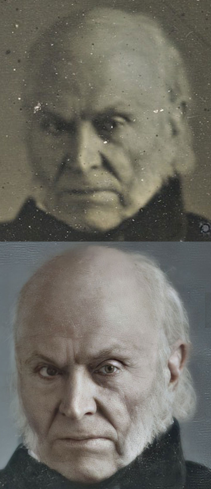 Before and after JQA images