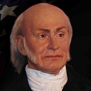 John Quincy Adams Wax Figure