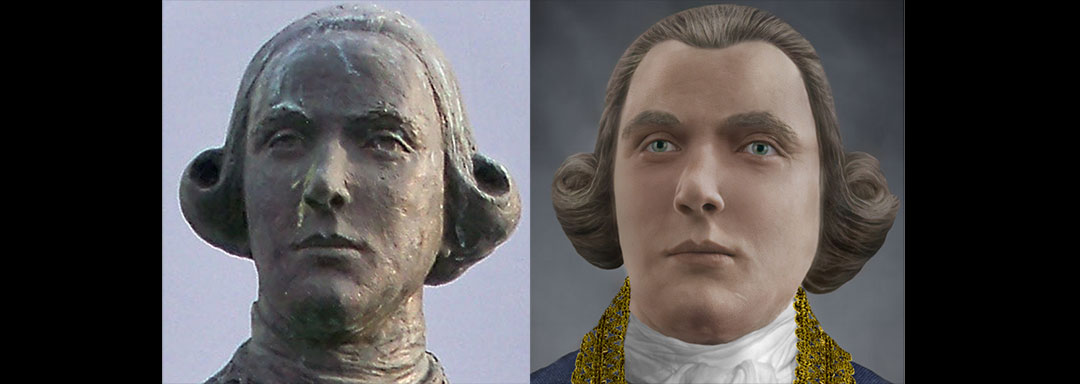 The Face of Bernardo De Gálvez - Statue Reconstruction