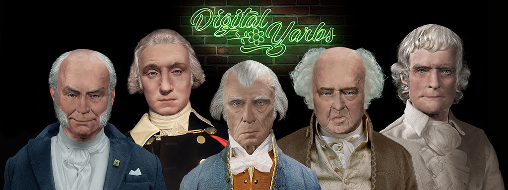 Digital Yarbs Founding Fathers Banner
