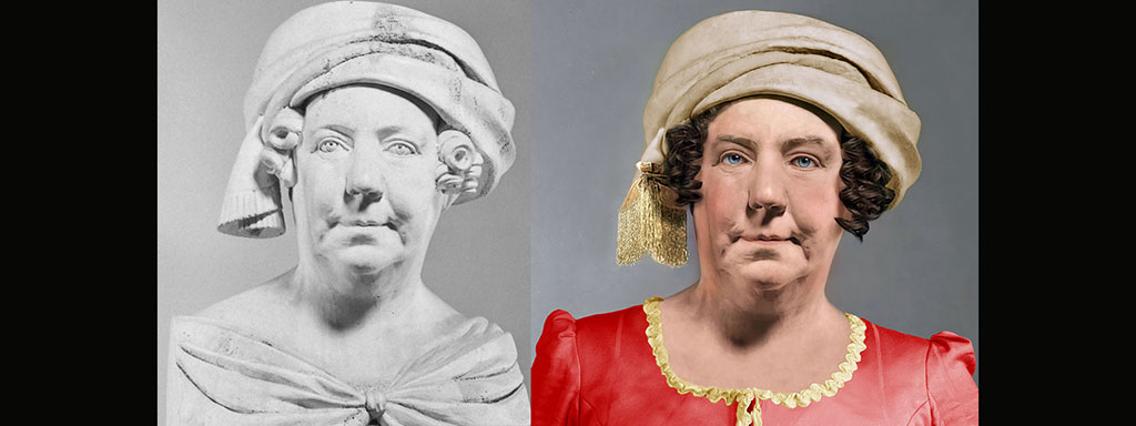 The Real Face of Dolley Madison - Life Mask Reconstruction