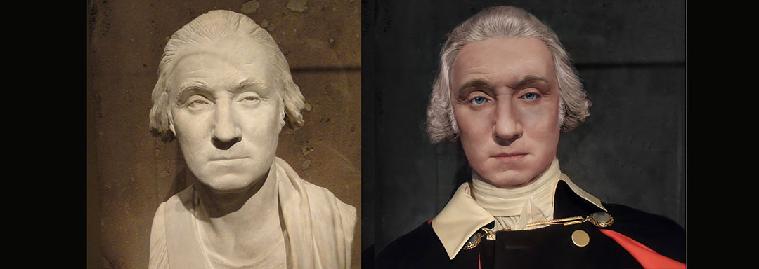 The Real Face of George Washington - Life Mask Reconstruction