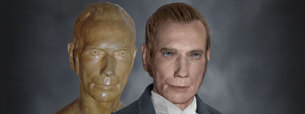 The Real Face of Henry Clay - Life Mask Reconstruction
