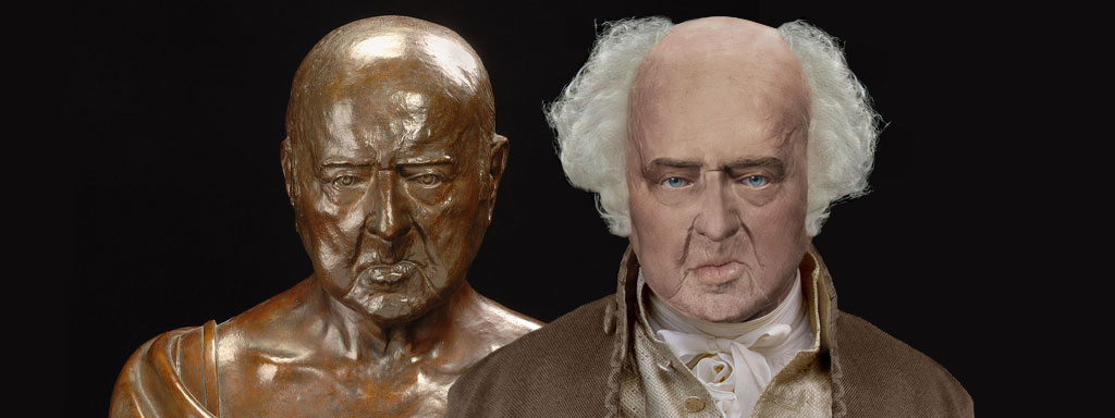 The Real Face of John Adams - Life Mask Reconstruction