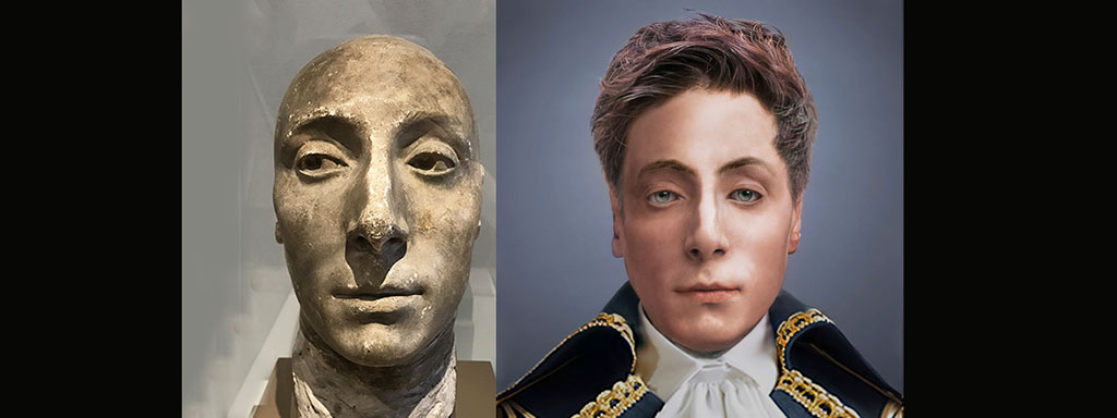 The Real Face of Marquis de Lafayette - Life Mask Reconstruction