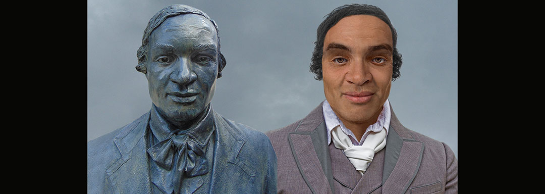 The Face of Thomas Day - Statue Reconstruction