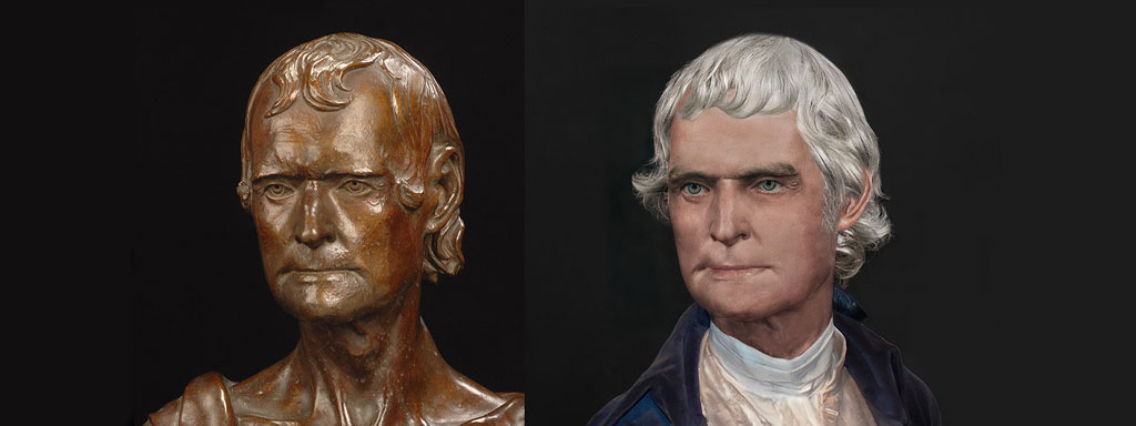 The Real Face of Thomas Jefferson - Life Mask Reconstruction