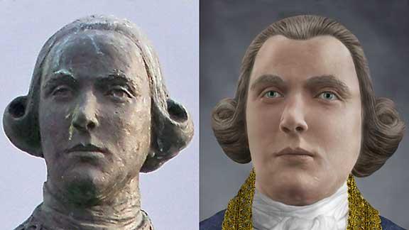 The Face of Bernardo de Gálvez