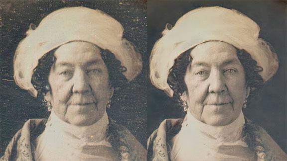 Dolley Madison - The Enhanced Daguerreotypes