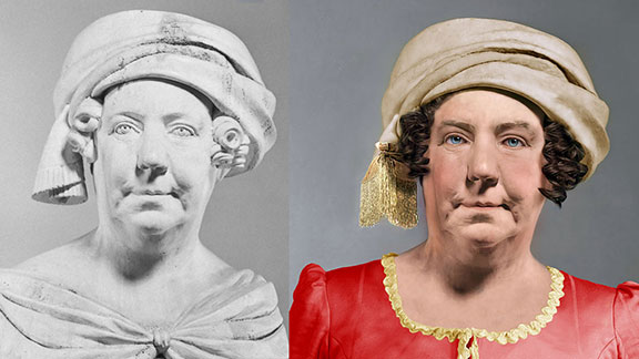 The Life Mask Face Of Dolley Madison