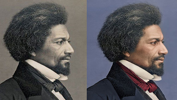 Frederick Douglass - The Enhanced Daguerreotypes