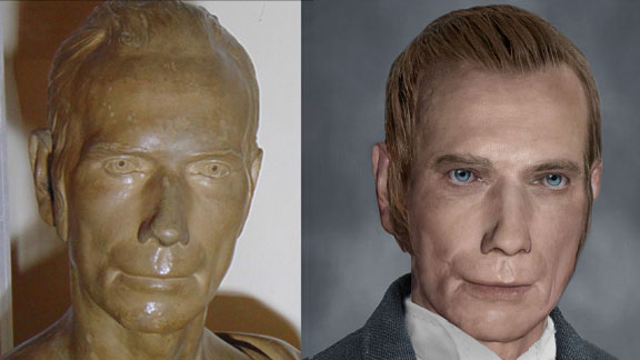 The Life Mask Face Of Henry Clay