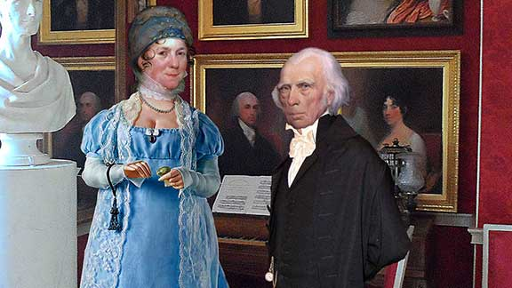 An Intimate Tour of Montpelier with James and Dolley Madison