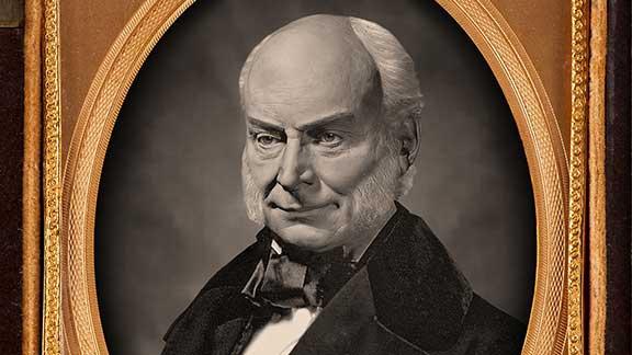 The Lost Daguerreotype of John Quincy Adams