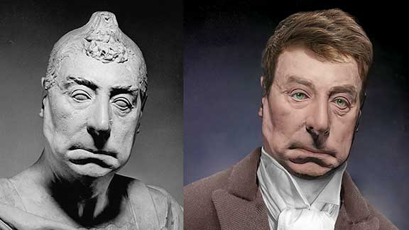 The Life Mask Face Of Marquis de Lafayette