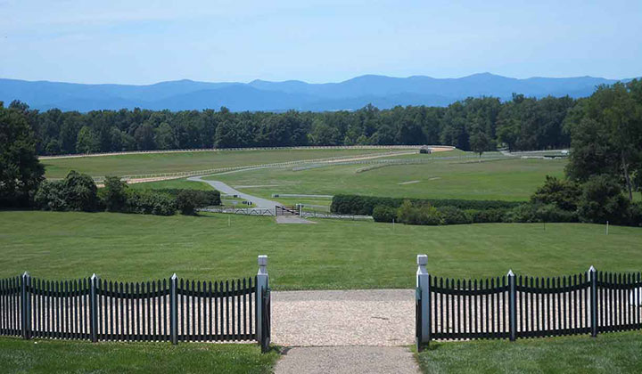 Front Lawn of James Madison's Montpelier