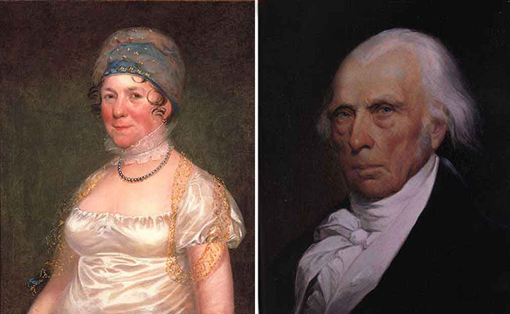 Dolley Madison and James Madison