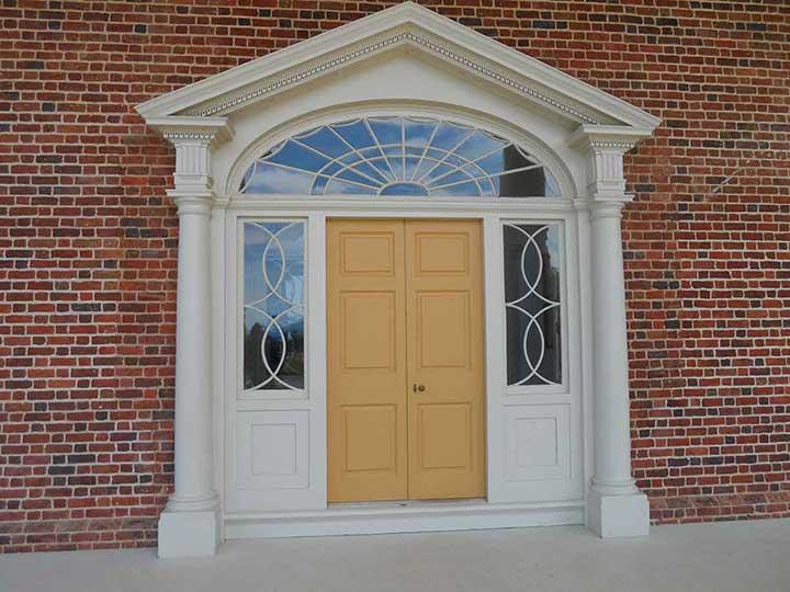 Montpelier front entrance