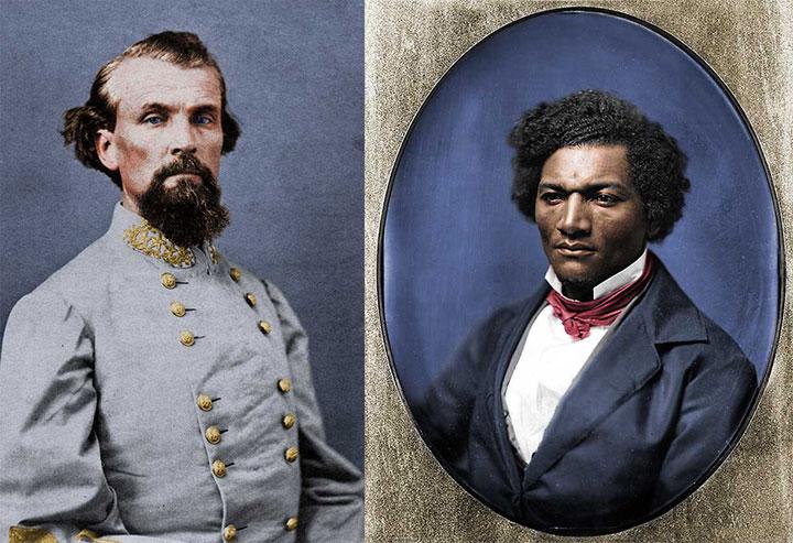 Nathan Bedford Forrest & Frederick Douglass