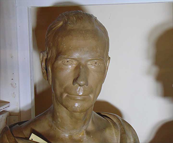 Henry Clay Life Mask by J.I. Browere