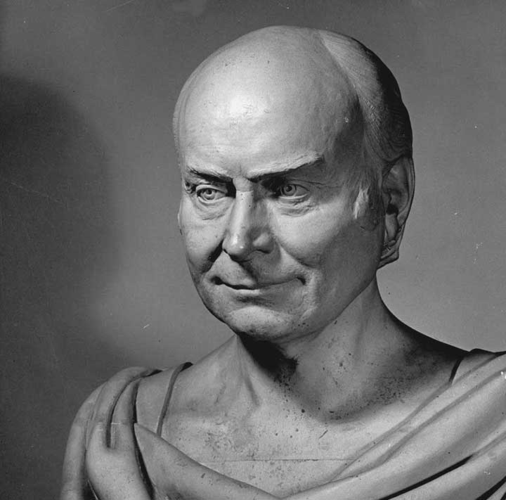 John Quincy Adams Life Mask