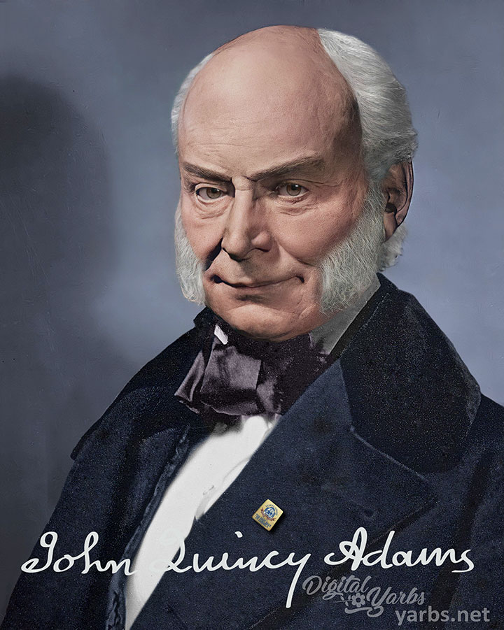 John Quincy Adams Life Mask Reconstructed