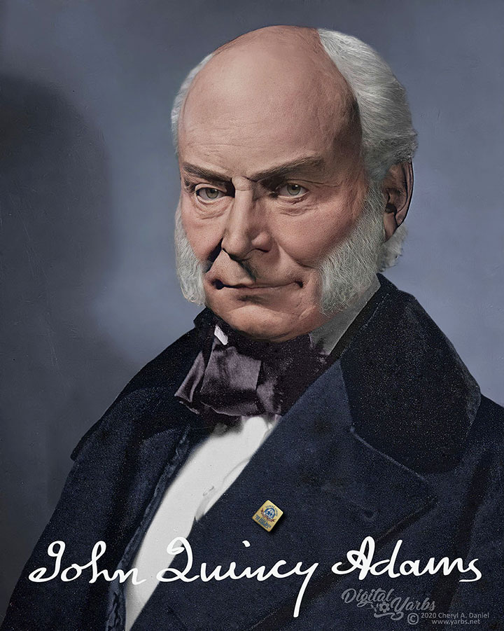 John Quincy Adams in his later years