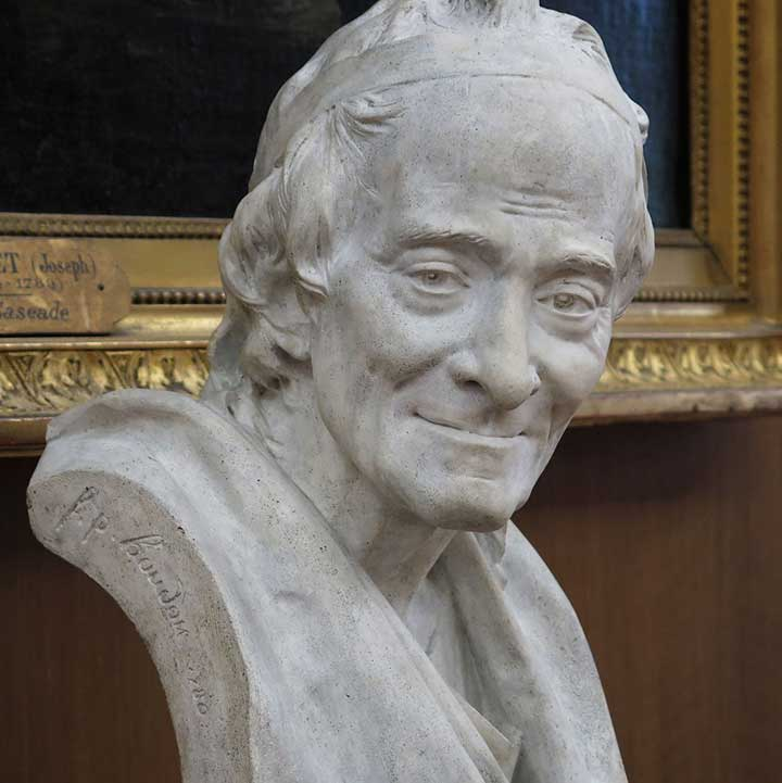Voltaire life mask