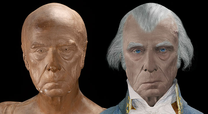 James Madison life mask