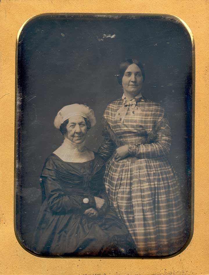 Dolley Madison and Anna Payne Daguerreotype