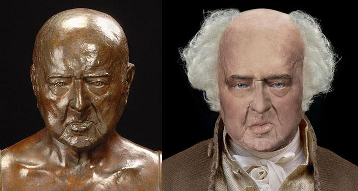 John Adams Life Mask