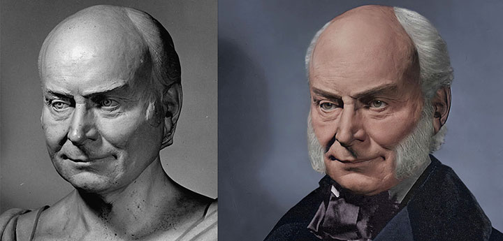 Life Mask John Quincy Adams
