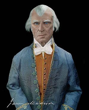 James Madison - The Jokester Print