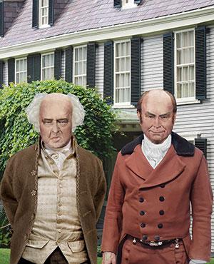 John Adams and John Quincy Adams Prints