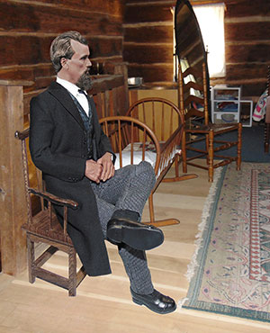 Nathan Bedford Forrest Born Again Print