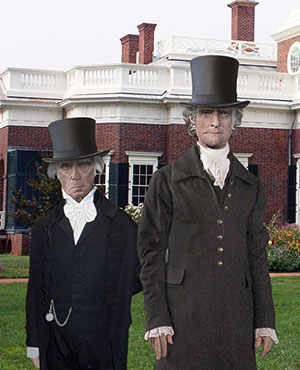 James Madison and Dolley Madison